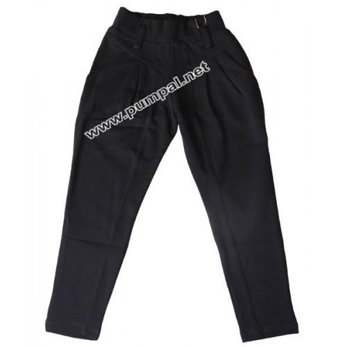 Елегантен панталон цвят графит